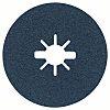 Bosch Zirconia Sanding Disc, 125mm, Coarse Grade, P24