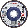 Bosch X-Lock Zirconia Aluminium Flap Disc, 115mm, P60