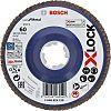 Bosch X-Lock Zirconia Aluminium Flap Disc, 115mm, P80