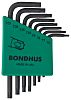 Bondhus 8 Piece L Shape Torx Key T10,