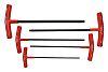 Bondhus 5 pieces Hex Key Set, T Shape