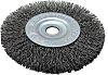 RS PRO Steel Circular Abrasive Brush, 100mm Diameter