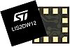 LIS2DW12TR STMicroelectronics, 3-Axis Accelerometer, I2C, SPI,