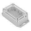 RS PRO Light Grey ABS, Polycarbonate Enclosure, IP68,