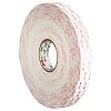 3M 4945 White Acrylic Foam Double Sided Tape,