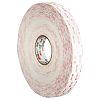 3M 4945P, VHB™ White Foam Tape, 25mm x
