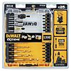 DeWALT Driver Bits Set 25 Pieces, Phillips, Pozidriv,