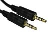 RS PRO 2m Male to Male Audio Cable