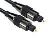 RS PRO 1.5m Toslink Fiber Optic Audio Cable