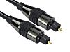RS PRO 20m Toslink Fiber Optic Audio Cable