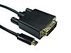 RS PRO USB C to DVI Adapter Cable,