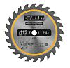 115mm 24T TCT SAW BLADE