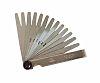 CK T3527M 413 Steel Feeler Gauge, 13 Blades