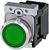 Siemens, SIRIUS ACT Illuminated Green Flat Push Button
