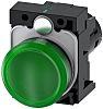 Siemens, SIRIUS ACT Green LED Indicator, 22mm Cutout,