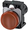Siemens, SIRIUS ACT Amber LED Indicator, 22mm Cutout,