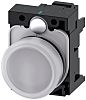 Siemens, SIRIUS ACT, front panel mounting White LED