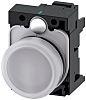 SIRIUS ACT, front panel mounting White LED Indicator,