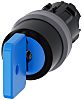 SIRIUS ACT Key Switch Head - 3 Position,