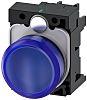Siemens, SIRIUS ACT Blue LED Indicator, 22mm Cutout,
