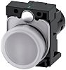 Siemens, SIRIUS ACT White LED Indicator, 22mm Cutout,