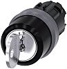 Key-operated switch RONIS, 22 mm, round,