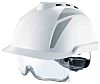 MSA Safety V-Gard 930 White Hard Hat, Ventilated