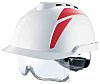 MSA Safety V-Gard 930 White Helmet & Hard