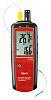 RS PRO LCD hinterleuchtet Batterie Psychrometer, 100 (Relative Humidity)%, 63 x 28 x 187mm, ISO-kalibriert