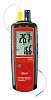 RS PRO LCD hinterleuchtet Batterie Psychrometer, 100 (Relative Humidity)%, 63 x 28 x 187mm, DKD/DAkkS-kalibriert