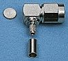 Telegartner 50Ω Right Angle Cable Mount SMA Connector,