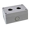 RS PRO Grey ABS Push Button Enclosure -