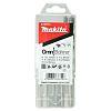 Makita 5 piece Multi-Material Twist Drill Bit Set,