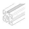 Bosch Rexroth Cover Strip, Aluminium, 8mm Slot x