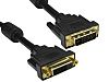 RS PRO DVI-D to DVI-D Cable, Male to