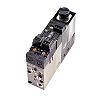 SMC Vacuum Ejector, 1mm nozzle , -84kPa 22L/min
