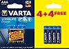 Varta Alkaline AAA Battery 1.5V