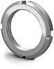 RS PRO, M20, 6mm Plain Steel Lock Nut