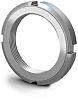 RS PRO, M45, 10mm Plain Steel Lock Nut