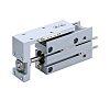 SMC Slide Unit Actuator Double Action, 20mm Bore,