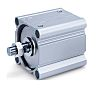 SMC Pneumatic Compact Cylinder 160mm Bore, 100mm Stroke,