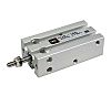 SMC Pneumatic Multi-Mount Cylinder CU Series, Double Action,