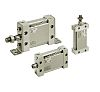 SMC Pneumatic Multi-Mount Cylinder MU Series, Double Action,