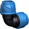 Georg Fischer 90° 90° Elbow PVC Pipe Fitting,
