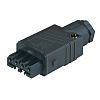 Lumberg Automation, ST IP54 Black Cable Mount 4P+E