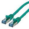 Roline Shielded Cat6a Cable 20m, LSZH, Male RJ45