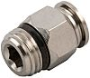 RS PRO Threaded-to-Tube Pneumatic Straight Threaded-to-Tube