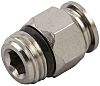 RS PRO Threaded-to-Tube Pneumatic Fitting Uni 1/4 to