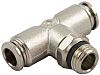 RS PRO Threaded-to-Tube Pneumatic Fitting Push In 8