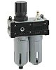 RS PRO G 1/4 Filter Regulator Lubricator, Manual,